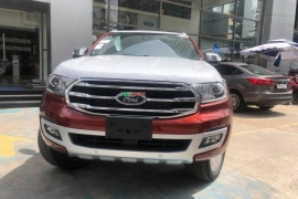 Ford Everest 2.2L Titanium 4x4 2018