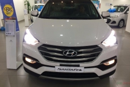 Hyundai Santafe 2.4AT 4WD 2018
