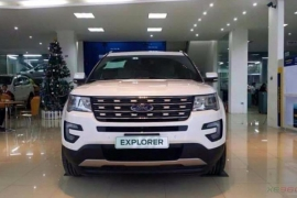 Ford Explorer 2.3 Ecoboost AT 2017