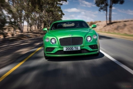 Bentley Continental GT Speed 2018