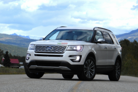 Ford Explorer 2.3 Ecoboost 2018