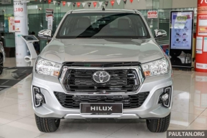Toyota Hilux 2.4E 4x2 (6AT) 2019
