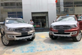 Ford Everest 2019