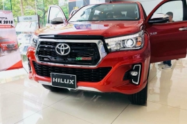 Toyota Hilux 2.8G 4x4 AT 2018