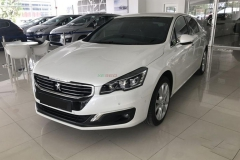 Peugeot 508 - Pearl White