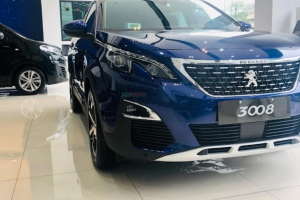 PEUGEOT 3008 ALL NEW -  Magnetic Blue.