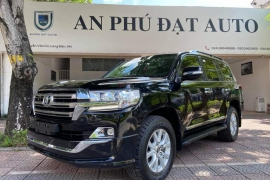 Toyota Land Cruiser 2016 body Trung Đông model 2017