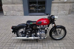 Royal Enfield Classic 500 Red 2018
