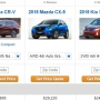 Honda CR-V, Mazda CX-5, Kia New Sorento