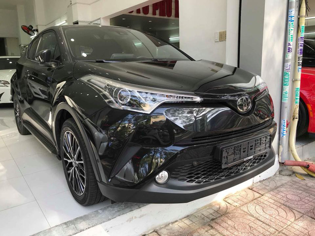 Toyota C-HR turbo